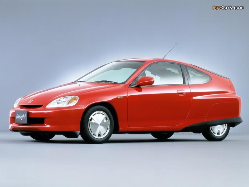Honda Insight JP-spec (ZE1) 1999–2006 wallpapers (800 x 600)