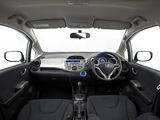 Photos of Honda Jazz Hybrid AU-spec 2012