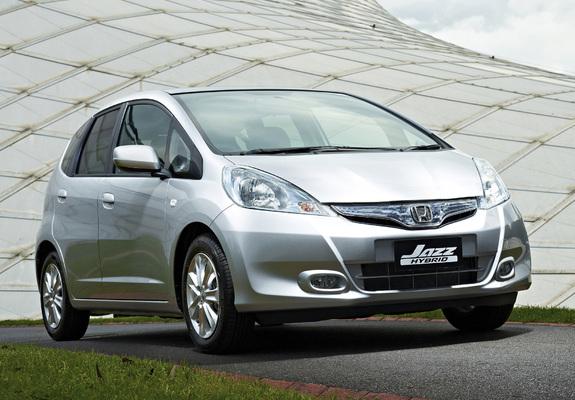 Pictures Of Honda Jazz Hybrid Au Spec 2012