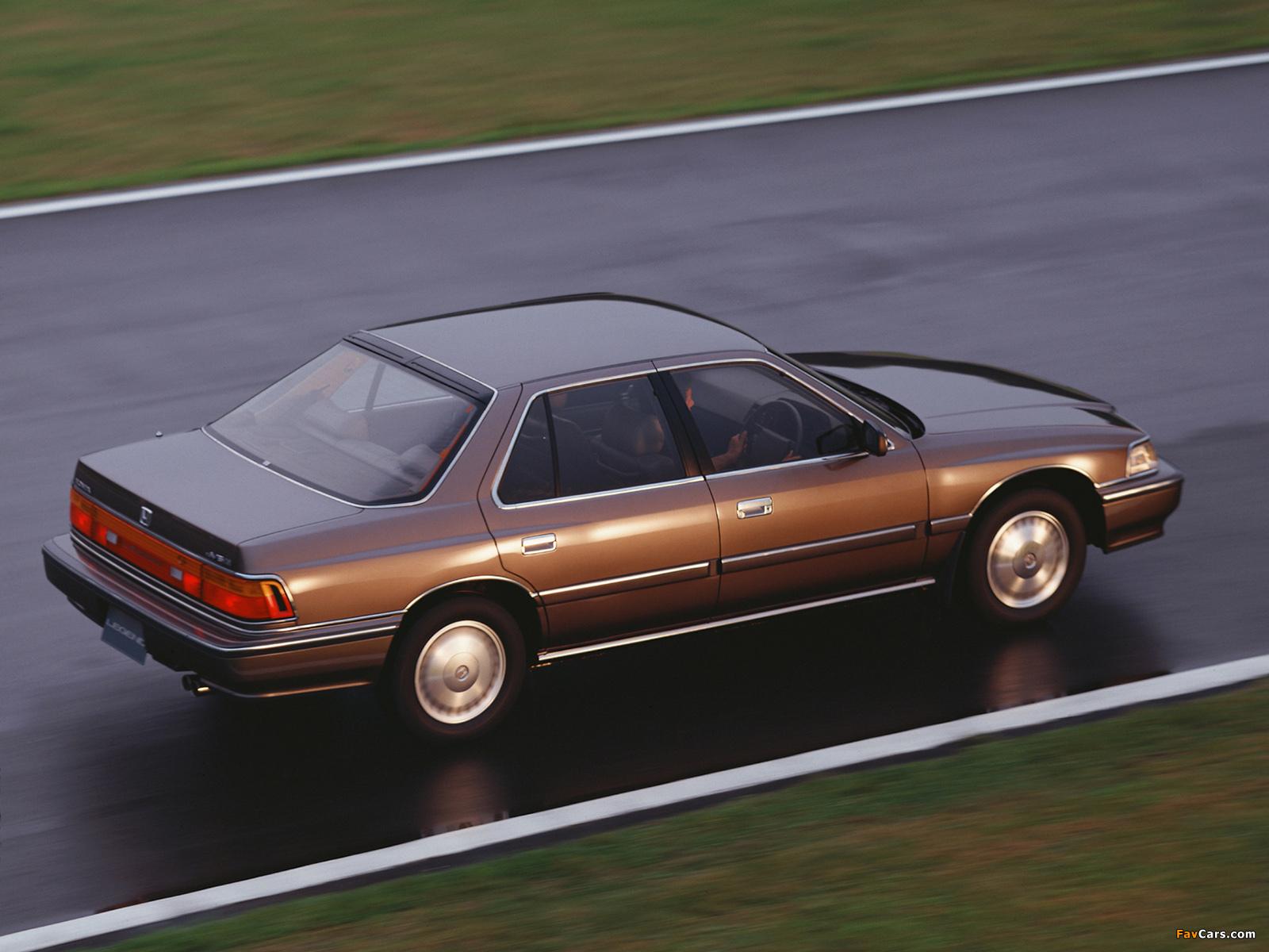 Honda Legend V6 Xi 1985-90 pictures (1600x1200)