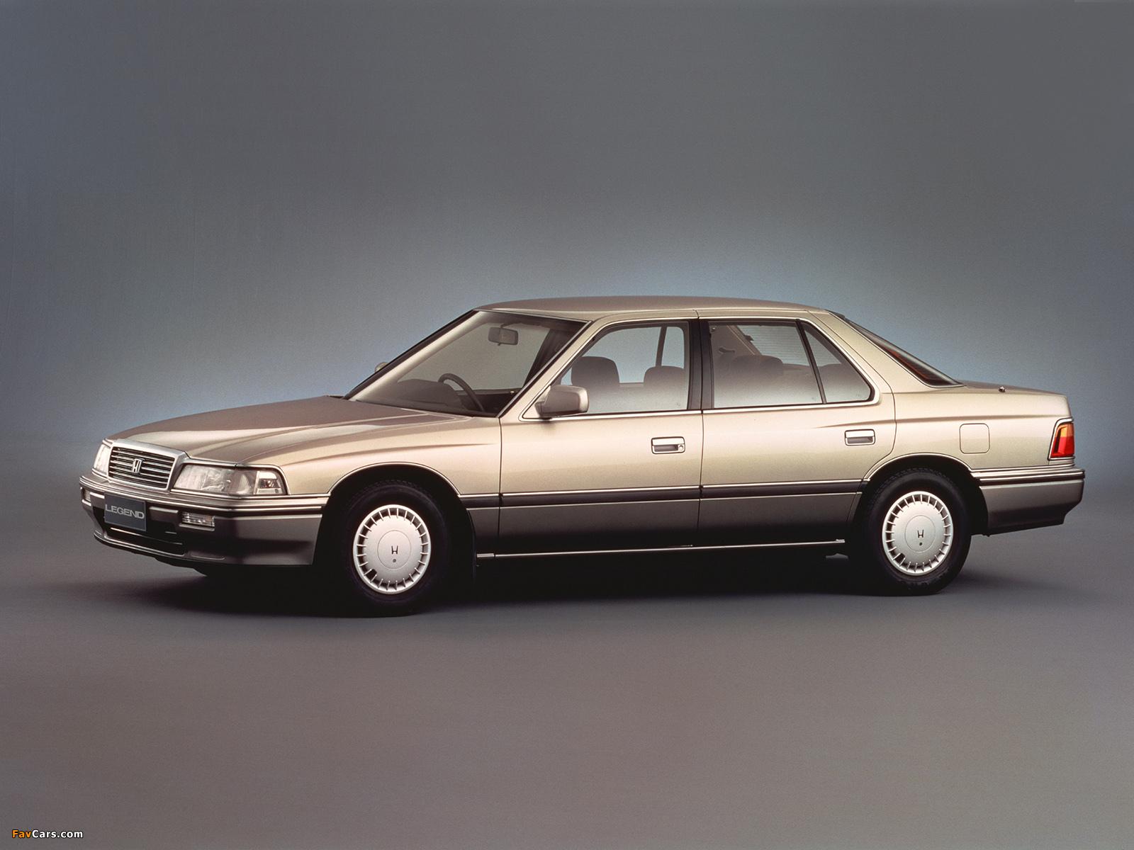 Images of Honda Legend V6 Gi 1985-90 (1600x1200)