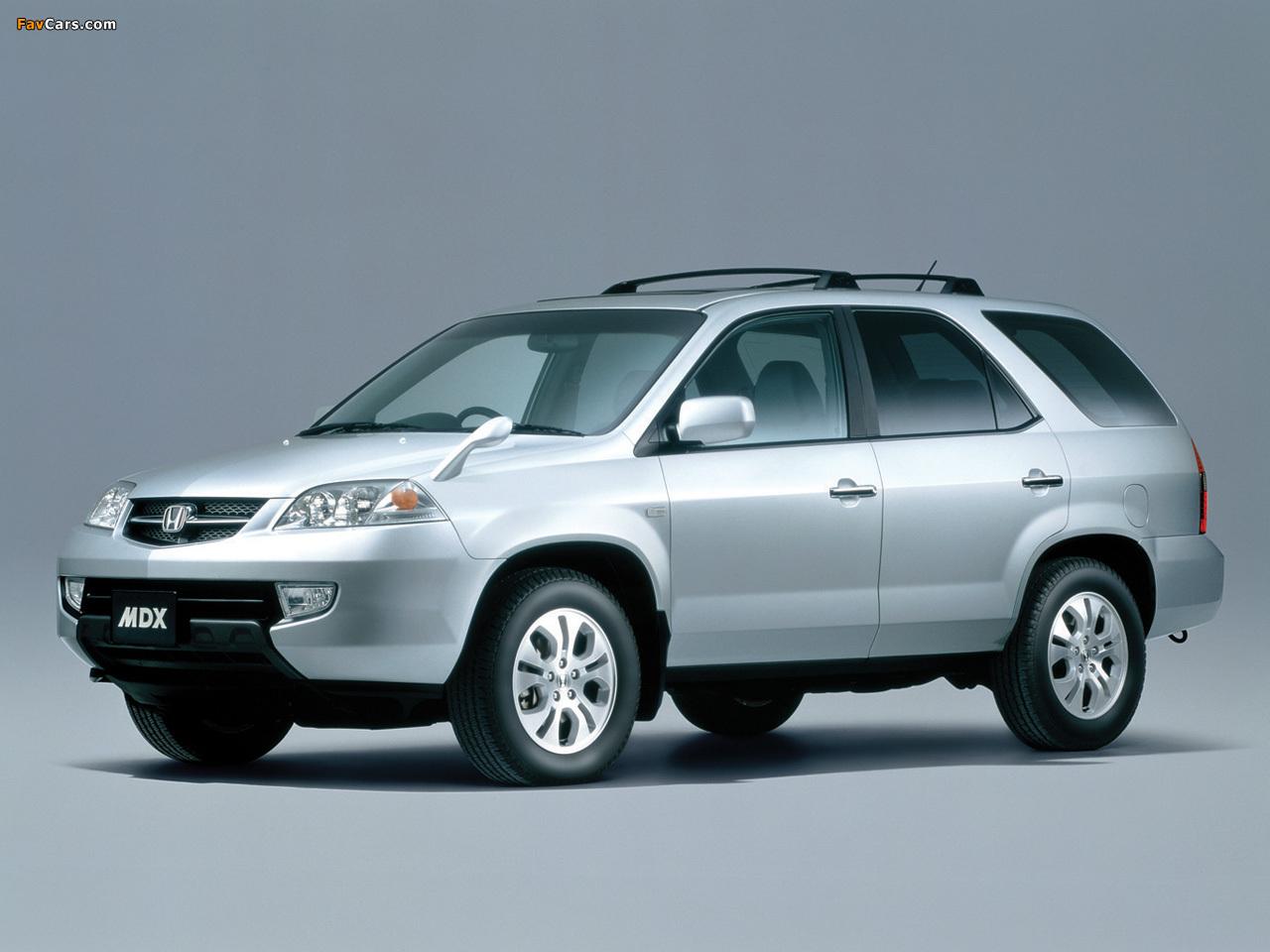 Photos of Honda MDX (YD) 2001–03 (1280 x 960)