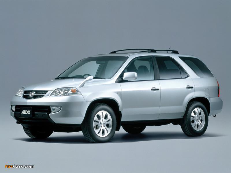 Photos of Honda MDX (YD) 2001–03 (800 x 600)