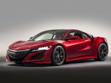 Honda NSX 2016 photos