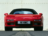 Pictures of Honda NSX-T UK-spec (NA1) 1995–2002