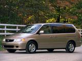 Honda Odyssey US-spec (RA6) 1999–2004 images