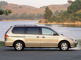 Honda Odyssey US-spec (RA6) 1999–2004 photos