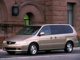 Honda Odyssey US-spec (RA6) 1999–2004 pictures