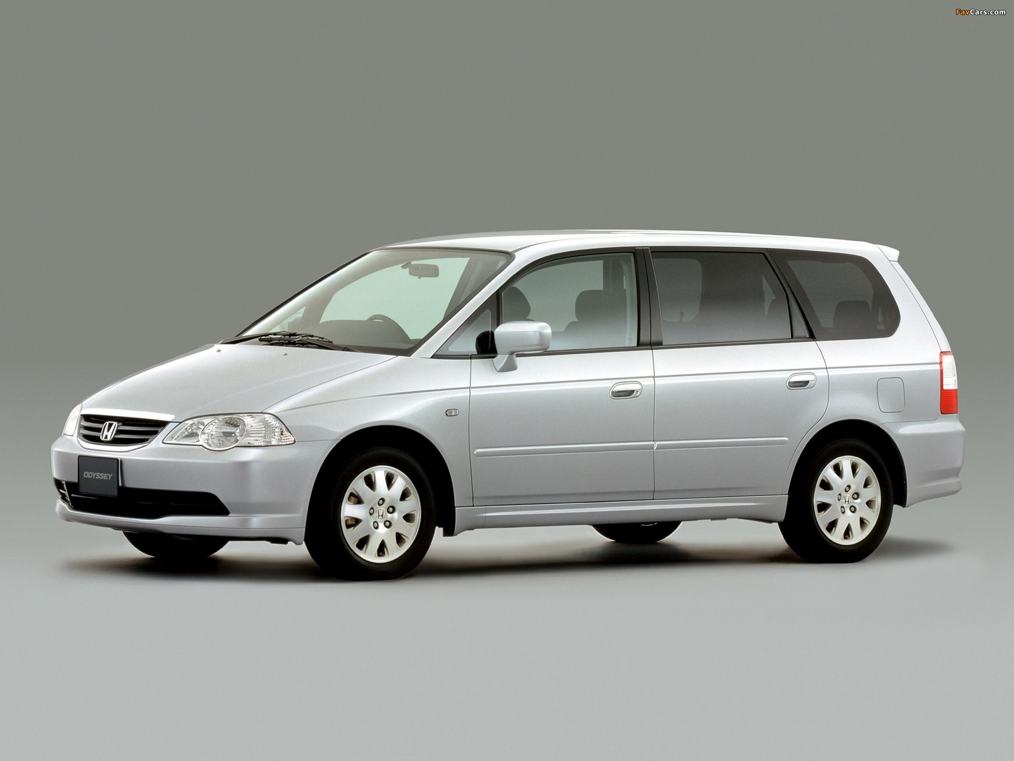 Honda Odyssey JP-spec 1999-2001 pictures (2048x1536)