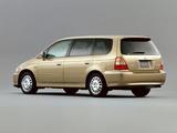Honda Odyssey Prestige VZ 2001–03 pictures