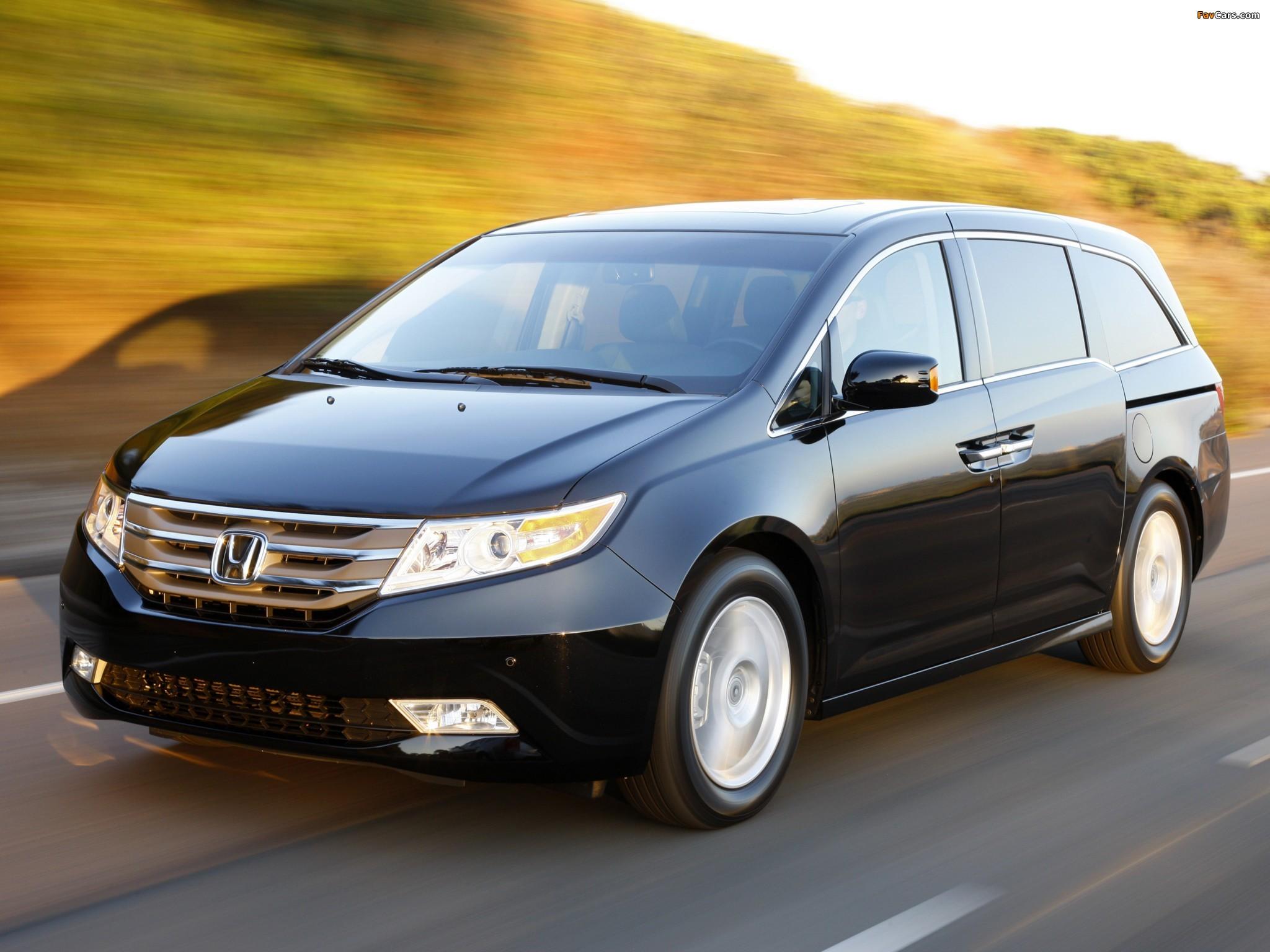Honda Odyssey US-spec 2010 photos (2048x1536)