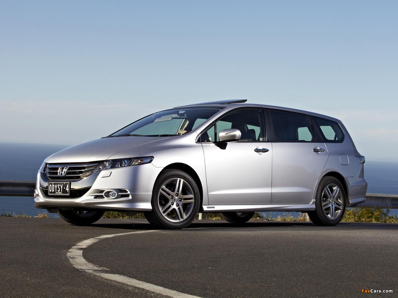 Honda Odyssey Au Spec Rb3 2011 Photos 1280x960