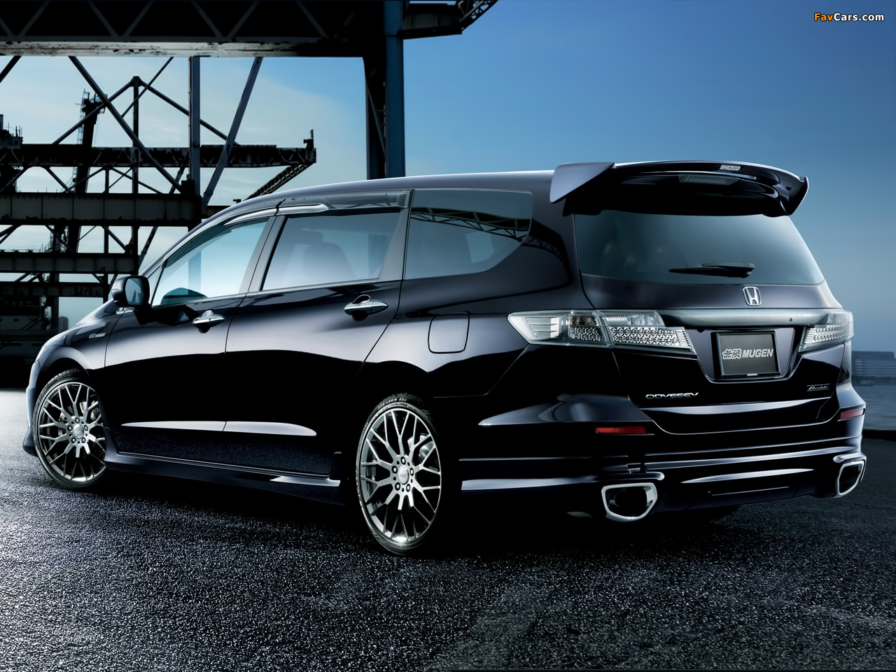 Mugen Honda Odyssey Rb3 2011 Wallpapers 1280x960