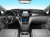 Honda Odyssey US-spec 2013 photos