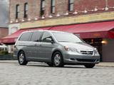 Images of Honda Odyssey US-spec 2005–07