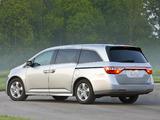 Images of Honda Odyssey US-spec 2010