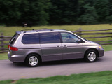 Photos of Honda Odyssey US-spec (RA6) 1999–2004