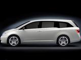 Photos of Honda Odyssey Concept 2010