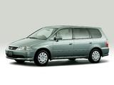Pictures of Honda Odyssey JP-spec 1999–2001