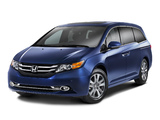 Pictures of Honda Odyssey US-spec 2013