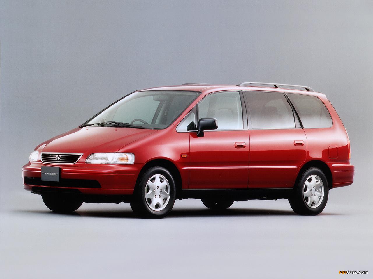 Honda Odyssey JP-spec (RA1) 1994-99 wallpapers (1280x960)