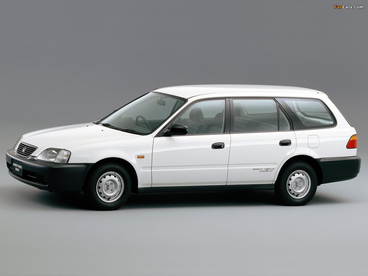 Honda Partner 1996–2006 pictures (1280 x 960)
