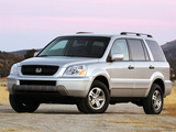 Honda Pilot 2003–06 photos