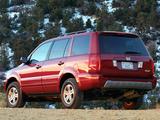 Honda Pilot 2003–06 pictures
