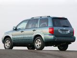 Photos of Honda Pilot 2003–06