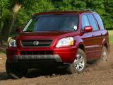 Pictures of Honda Pilot 2003–06