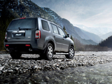 Wallpapers of Honda Pilot EU-spec 2008–11