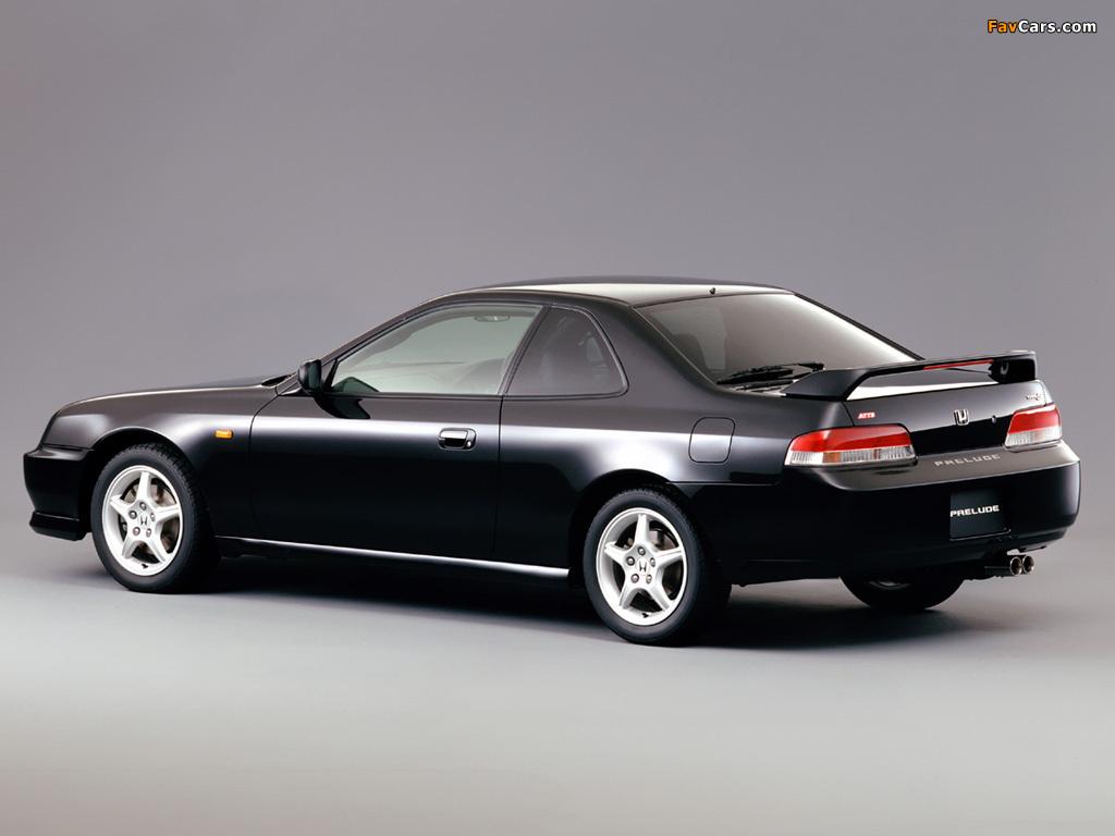 Honda Prelude SiR Type-S (BB6) 1998–2001 photos