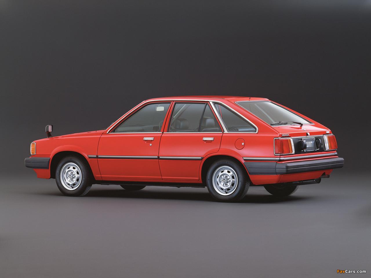 Honda Quint TS 1981–85 images (1280 x 960)