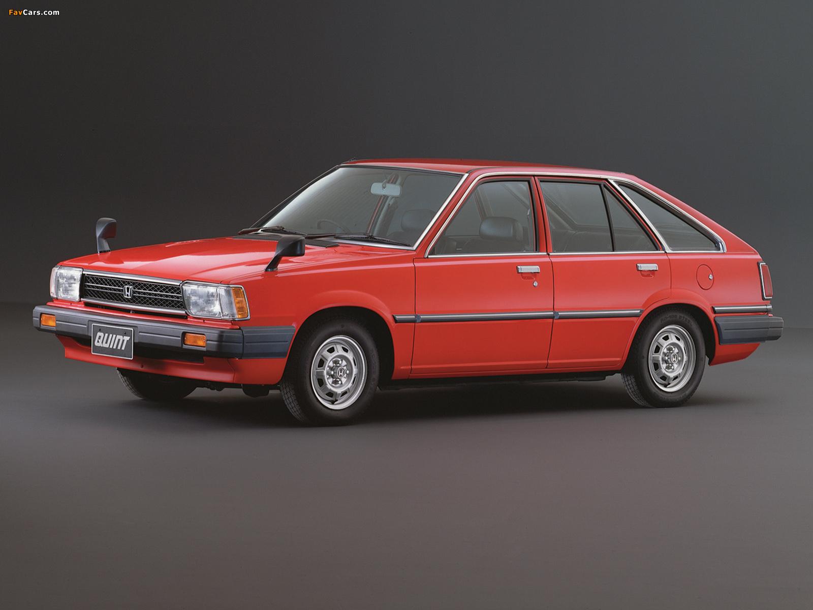 Honda Quint TS 1981–85 wallpapers (1600 x 1200)