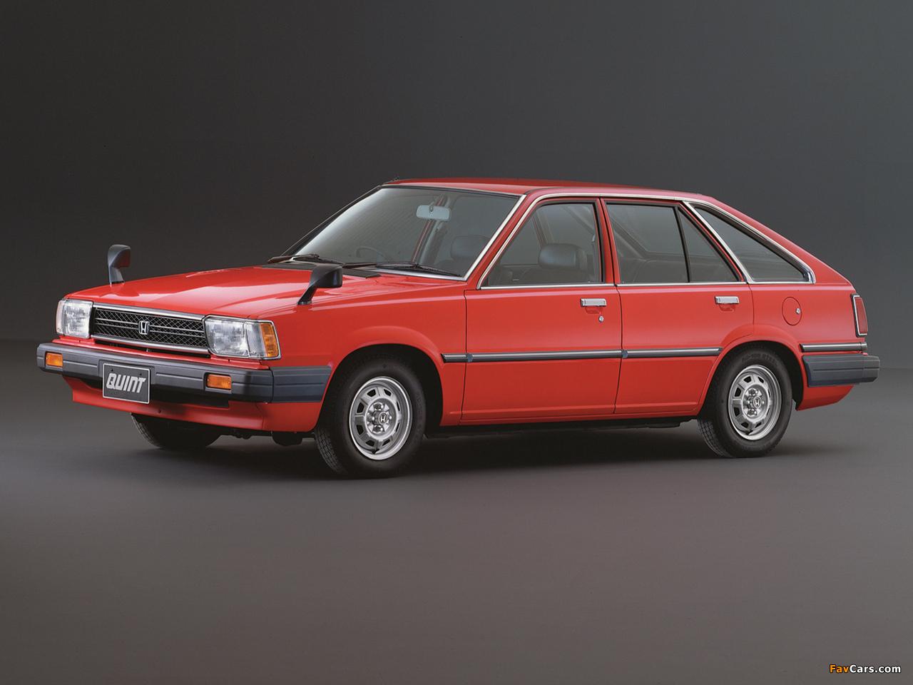 Honda Quint TS 1981–85 wallpapers (1280 x 960)
