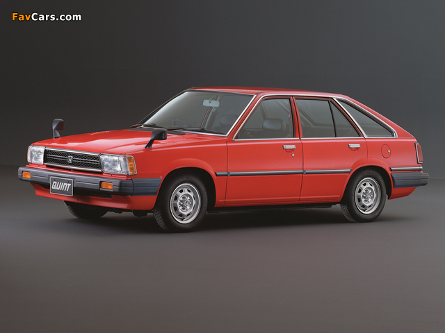 Honda Quint TS 1981–85 wallpapers (640 x 480)