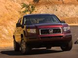 Pictures of Honda Ridgeline RTX 2006–08