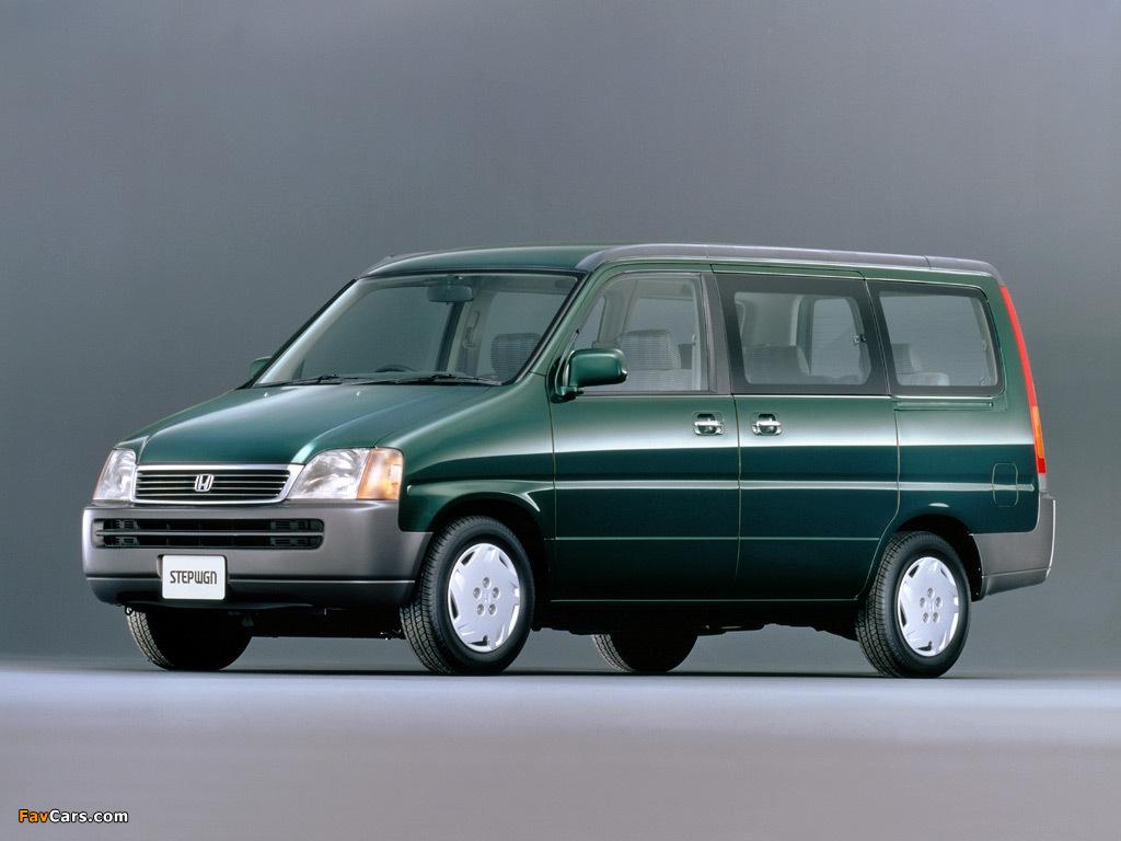 Honda Stepwgn (RF) 1996-2001 images (1024x768)