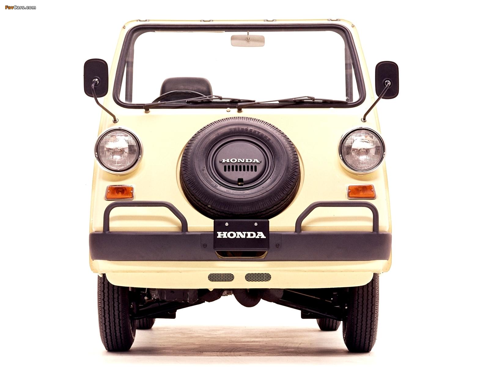 Photos of Honda Vamos 1970–73 (1600 x 1200)