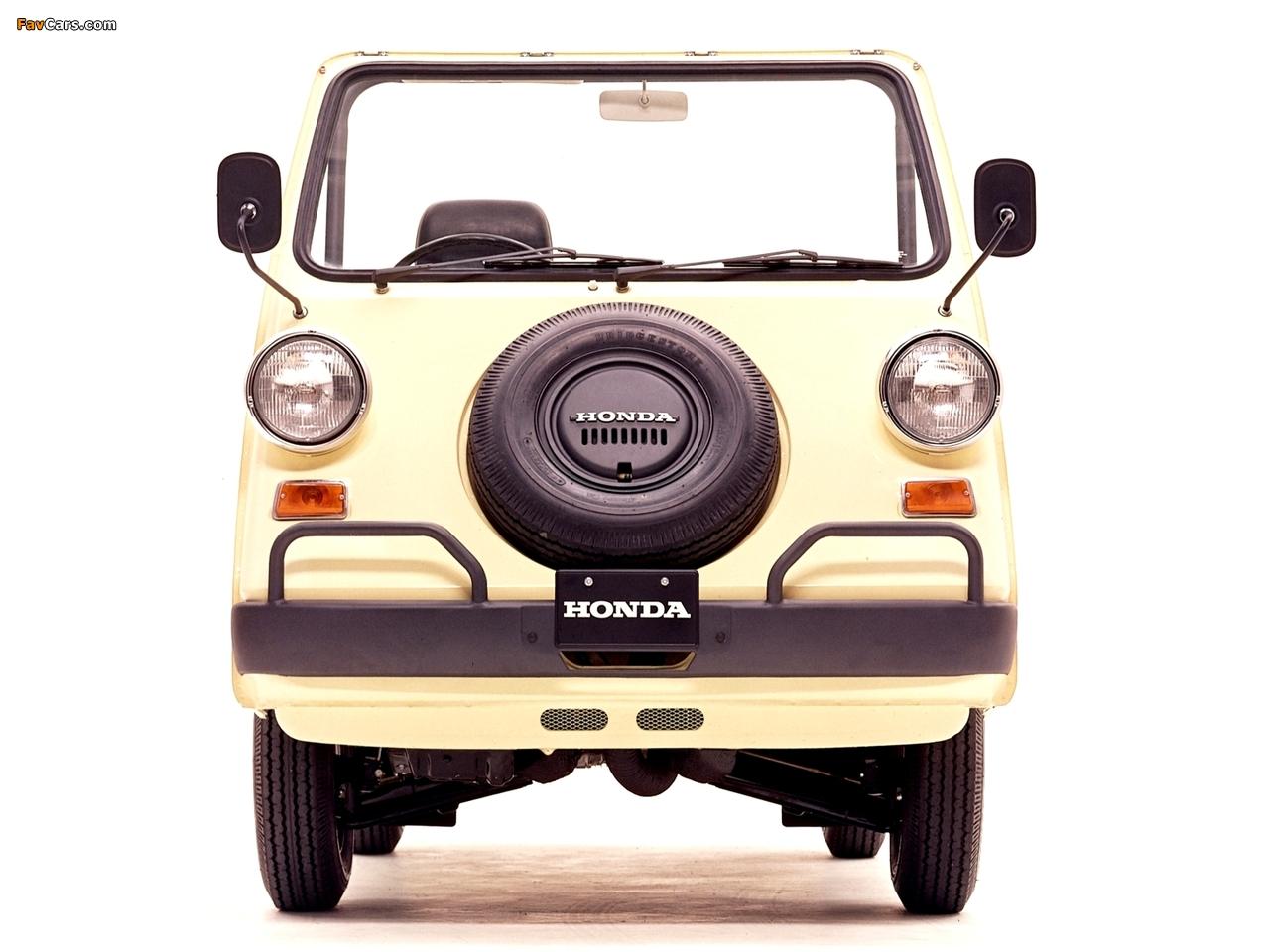 Photos of Honda Vamos 1970–73 (1280 x 960)