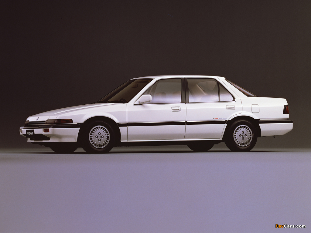 Honda Vigor Sedan 1985 89 Photos 1024x768