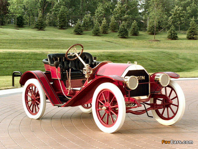 Hudson Roadster 1st 1909 wallpapers (640 x 480)