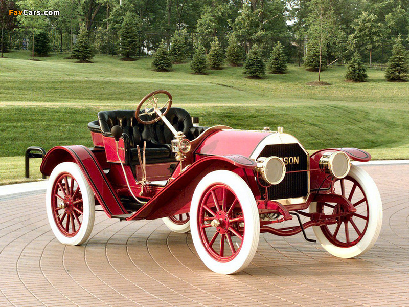 Hudson Roadster 1st 1909 wallpapers (800 x 600)
