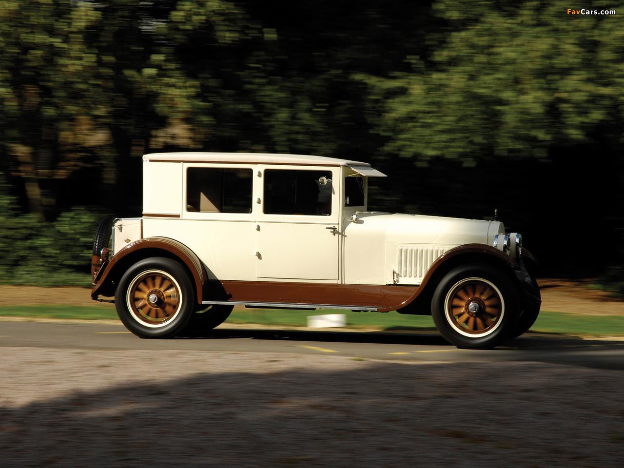 Hudson Super Six Coach 1924 images (1280 x 960)