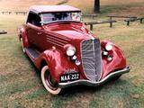 Pictures of Hudson Terraplane Deluxe Roadster 1932–38