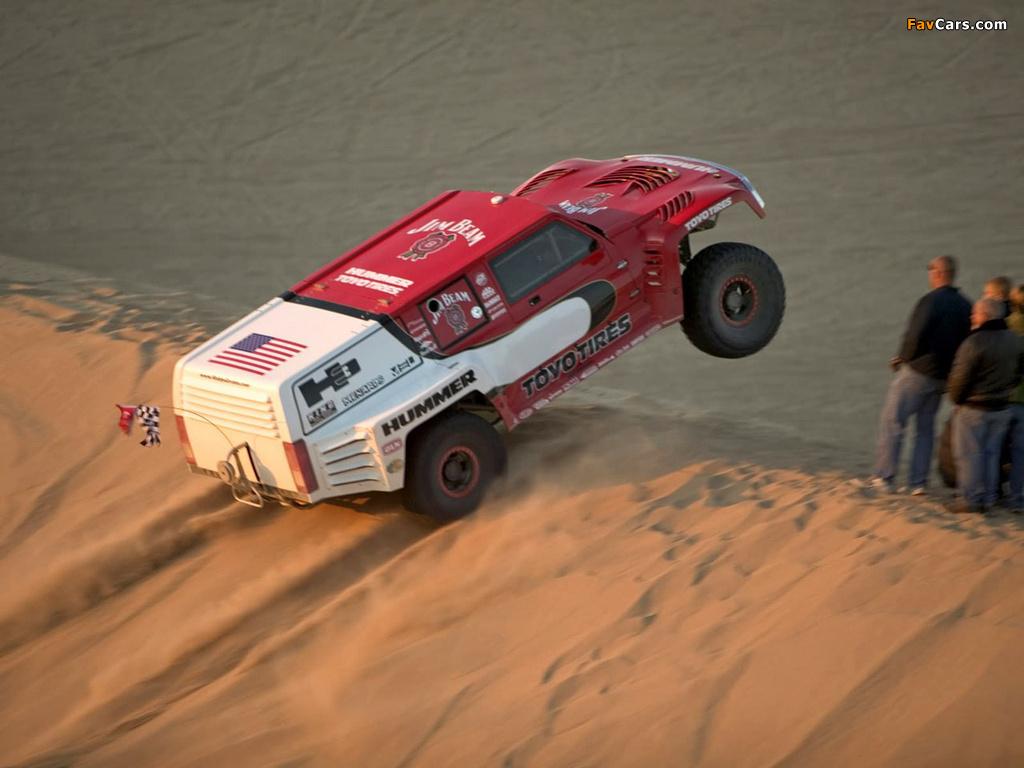 Hummer H3 Race Truck Prototype 2005 wallpapers (1024 x 768)