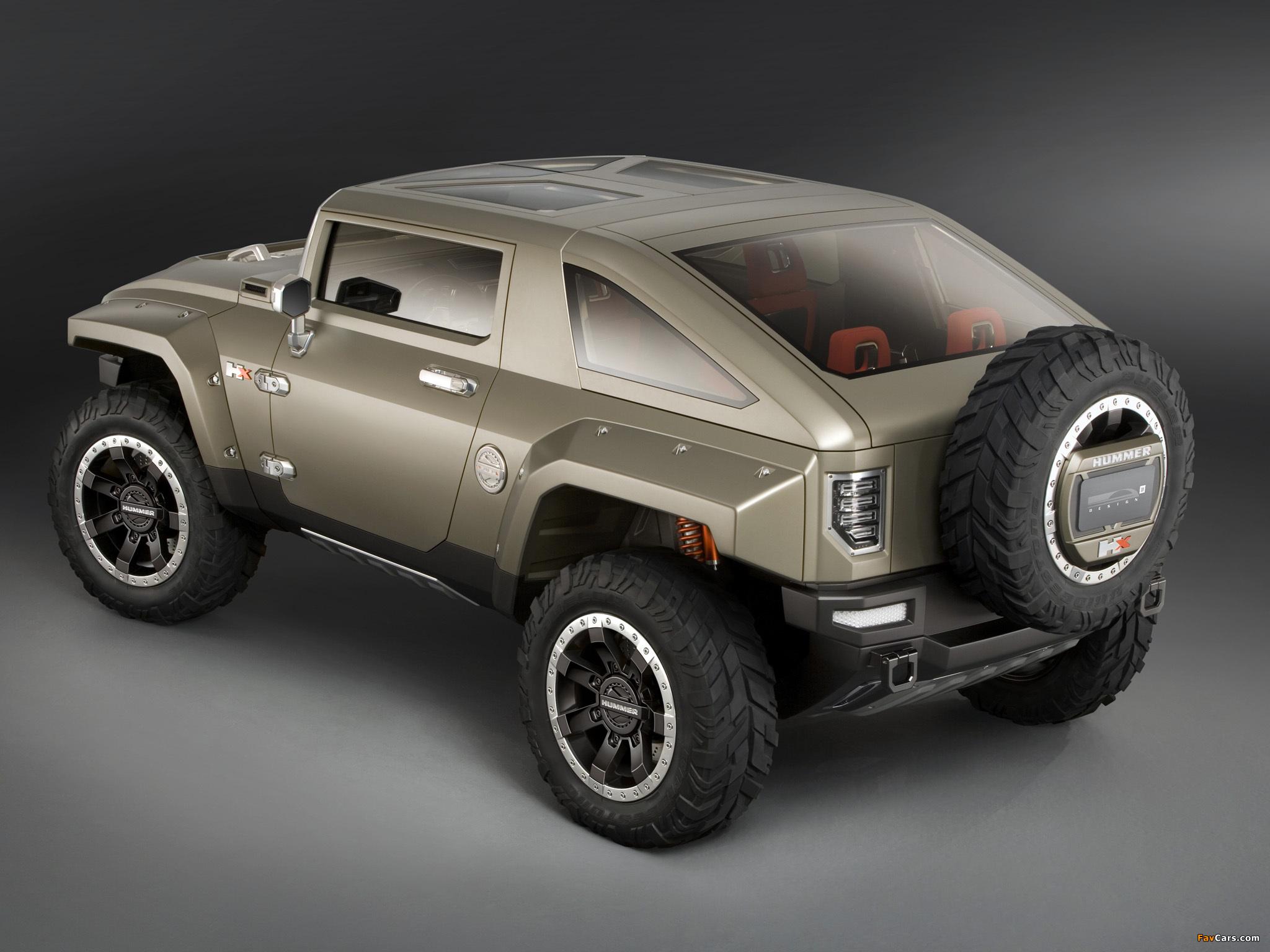 Hummer HX Concept 2008 images (2048 x 1536)