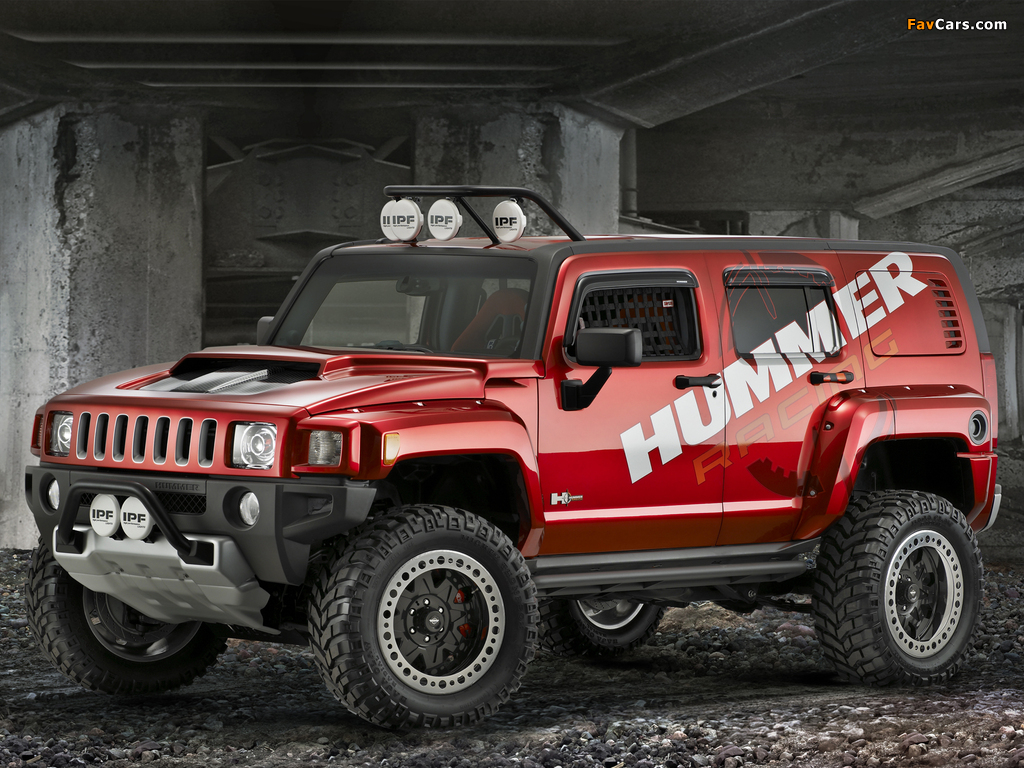Pictures of Hummer H3R Off Road Concept 2007 (1024 x 768)