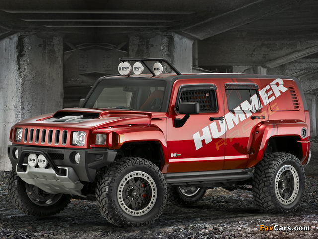 Pictures of Hummer H3R Off Road Concept 2007 (640 x 480)