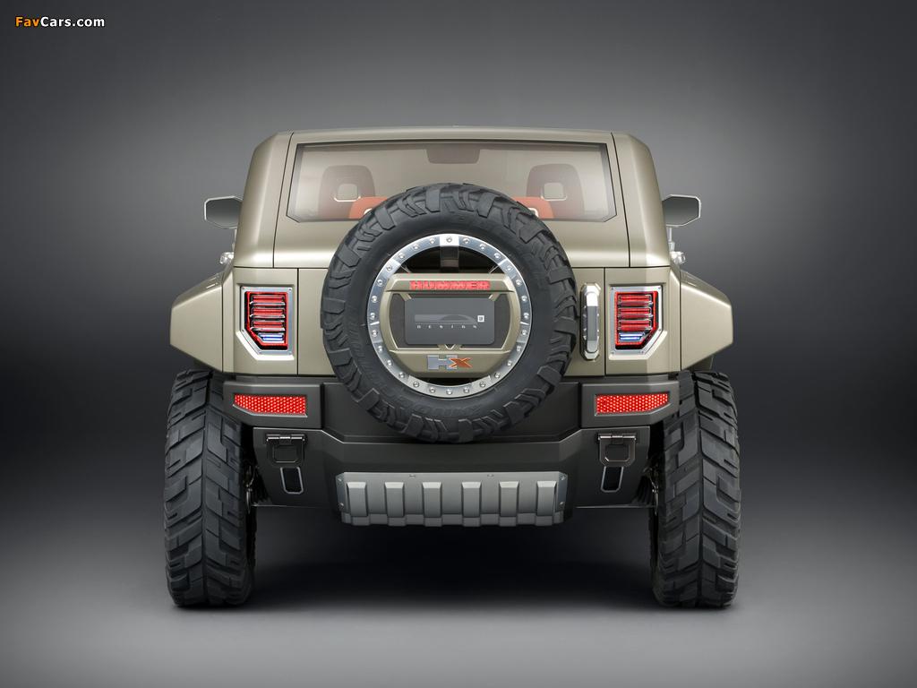 Hummer HX Concept 2008 wallpapers (1024 x 768)
